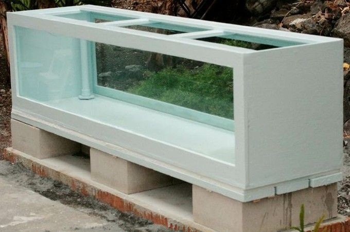 DIY Plywood Aquarium  Plywood Aquarium DIY Instructional aquariums