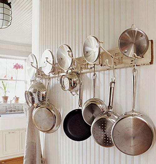 DIY Pots And Pans Rack  DIY Pot Rack Ideas Everyday Items Can Be e Cool Pot Racks