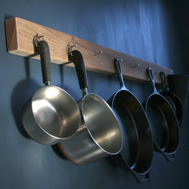 DIY Pots And Pans Rack  52 best images about rack for pots and pans on Pinterest