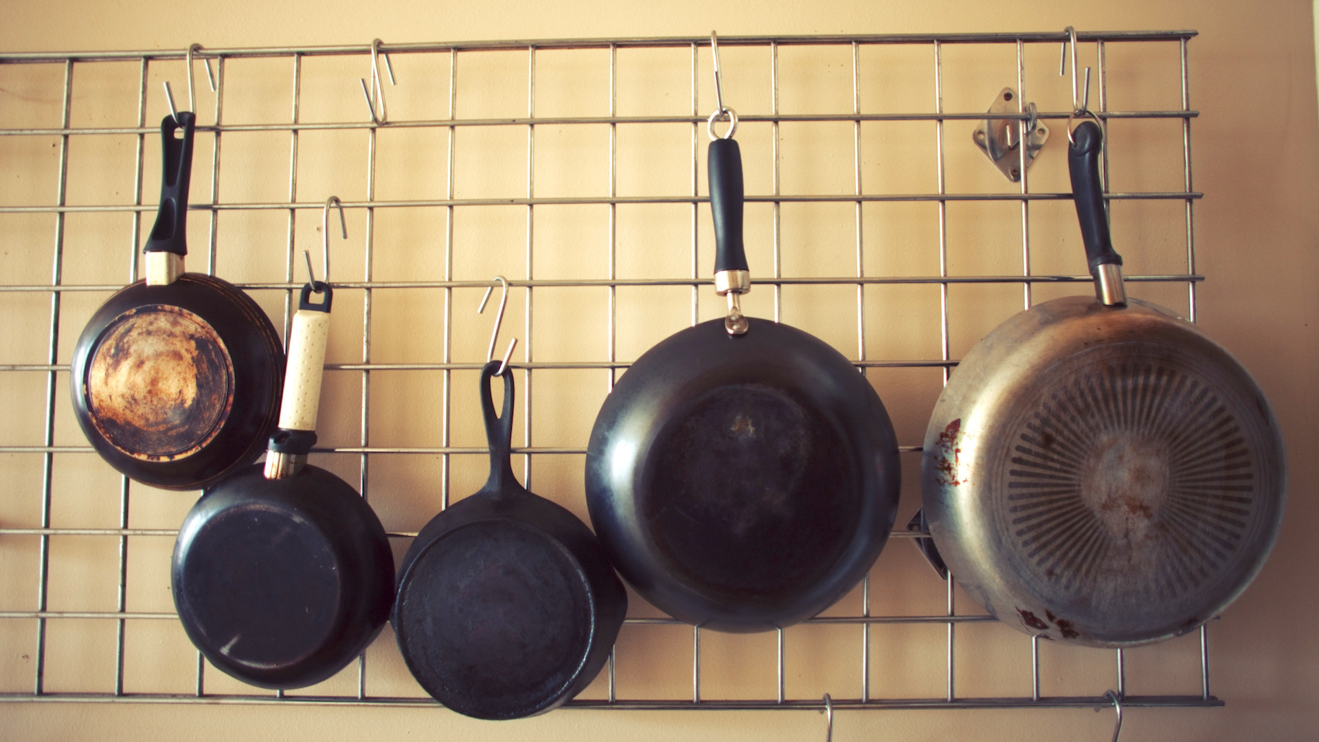 DIY Pots And Pans Rack  12 DIY pot rack projects to save space in your kitchen