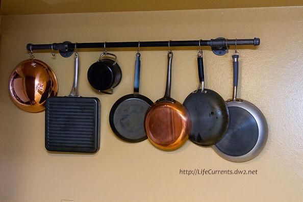 DIY Pots And Pans Rack  Hometalk