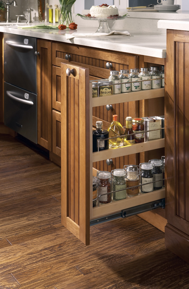 DIY Pull Out Spice Rack  New Initiatives from Merillat Show Homeowners How to