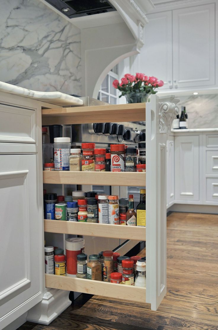 DIY Pull Out Spice Rack  1000 images about pull out spice racks on Pinterest