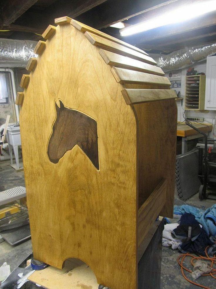 DIY Saddle Racks  Homemade Saddle Rack