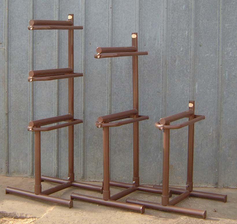 DIY Saddle Racks  diy saddle racks horse trailer Bing
