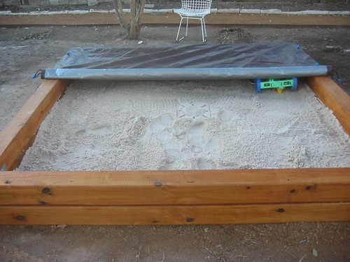 DIY Sandbox Cover  The Modern Family Aesthetic How to build a sandbox