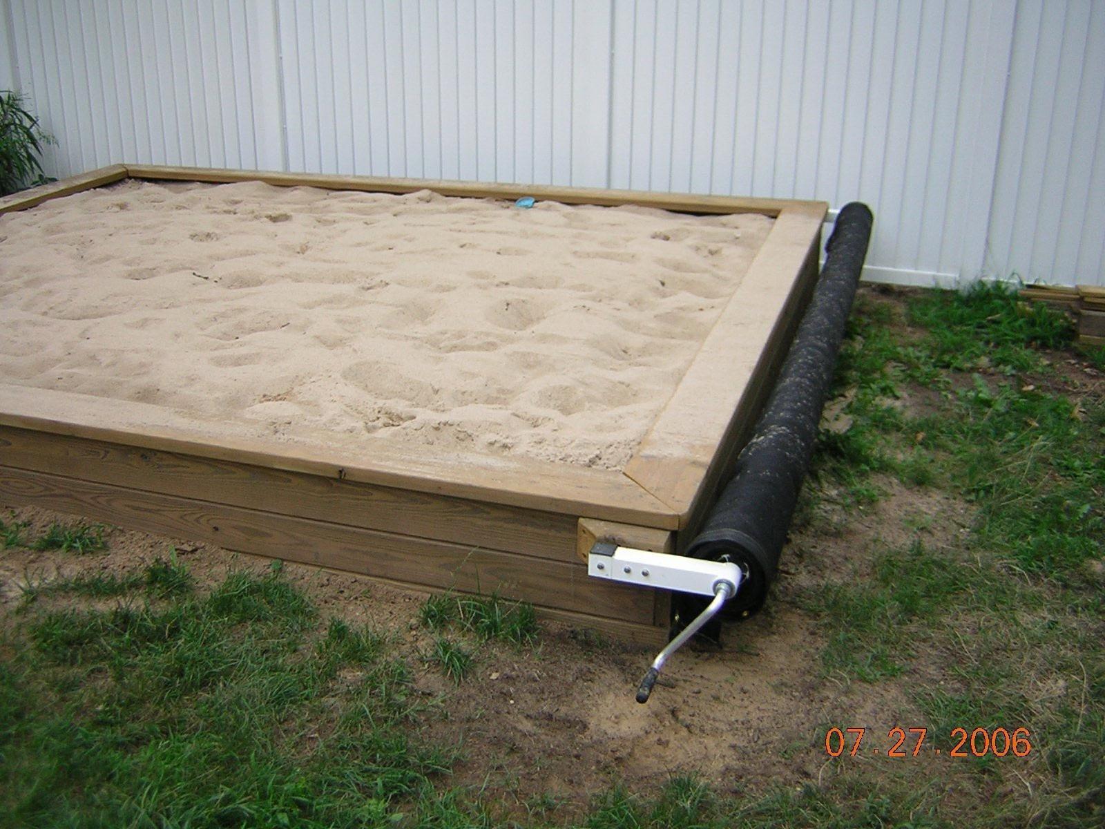 DIY Sandbox Cover  How to Build Sandbox DIY in Easy and Fun Way Ideas Tips