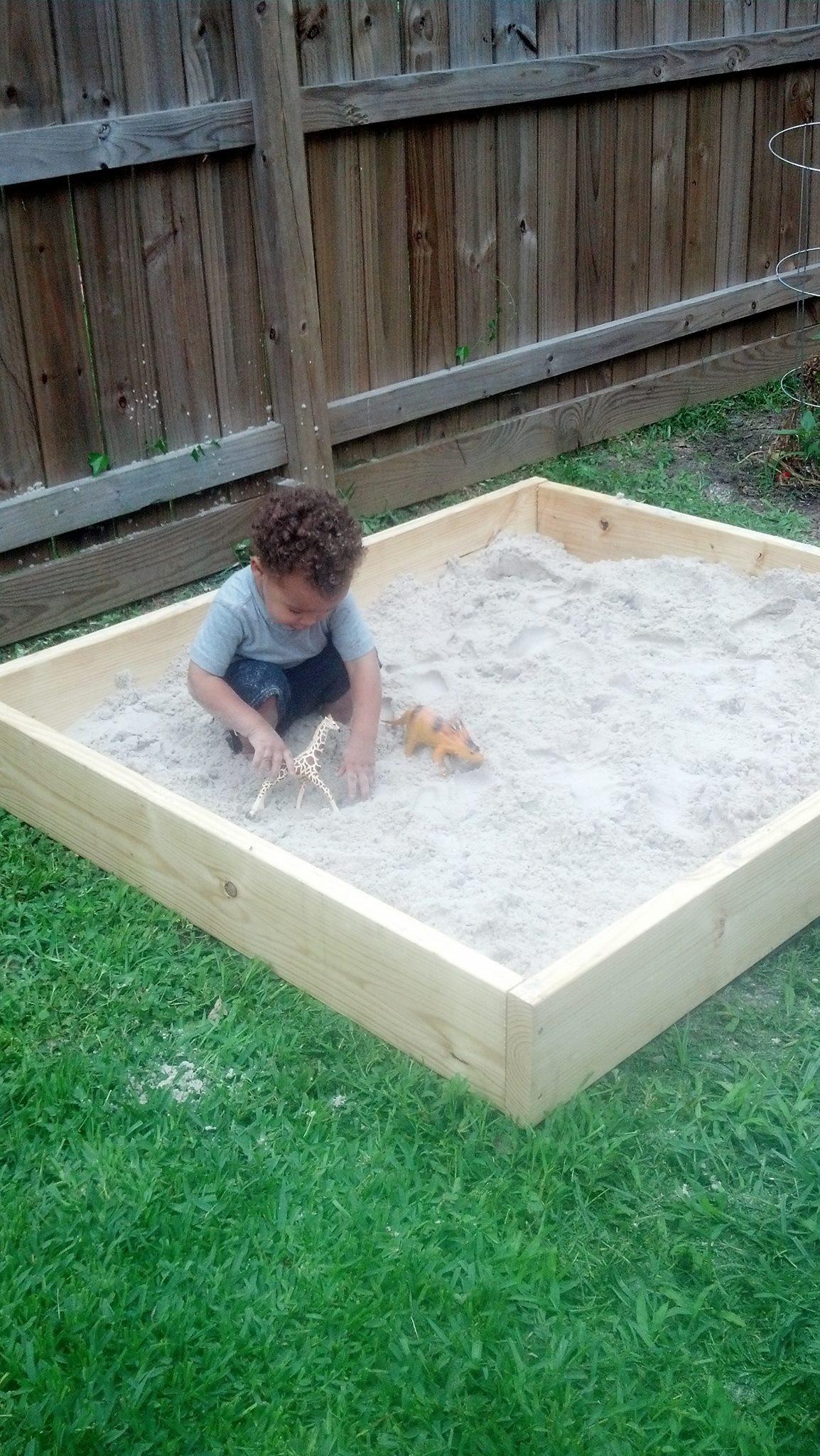 DIY Sandbox Cover  DIY Sandbox
