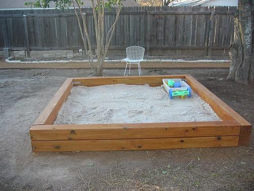 DIY Sandbox Cover  35 DIY Sandboxes Ideas Your Kids Will Love