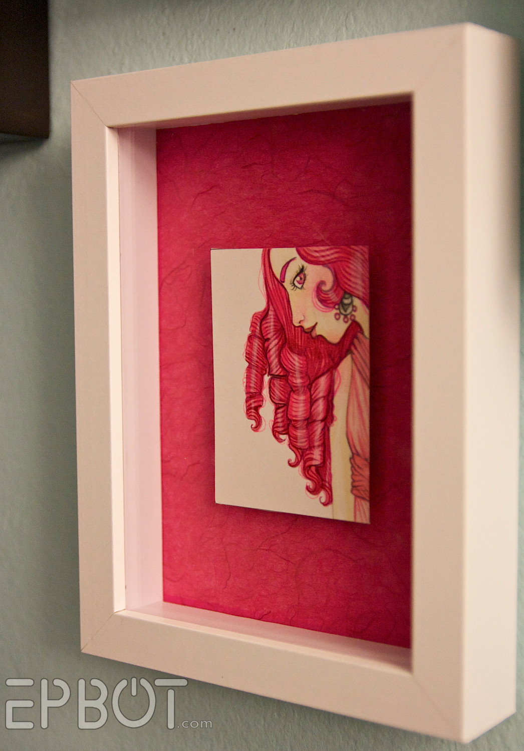 DIY Shadow Box Picture Frame  EPBOT Turn Any Fat Frame Into a Shadowbox Frame