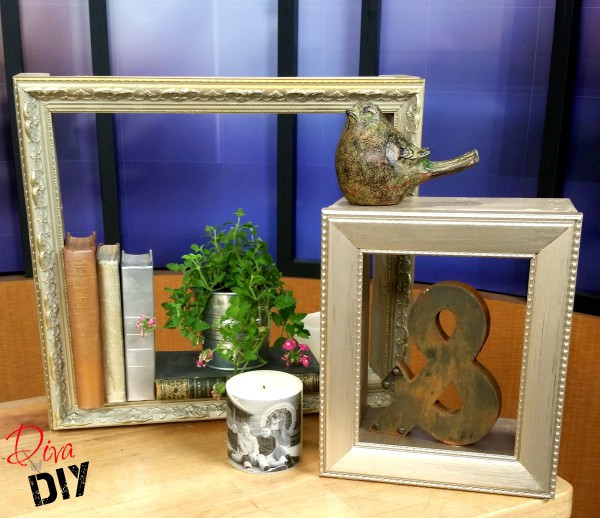 DIY Shadow Box Picture Frame  Shadow Boxes using Picture Frames