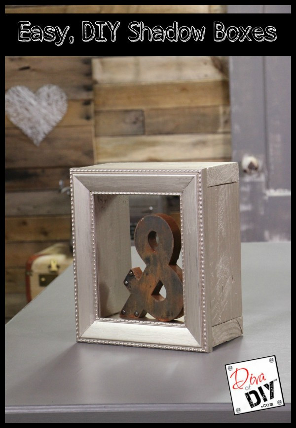 DIY Shadow Box Picture Frame  Easy DIY Shadow Boxes