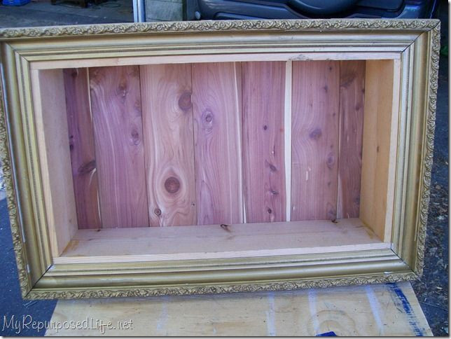 DIY Shadow Box Picture Frame  How To Build A Simple Box Frame WoodWorking Projects & Plans