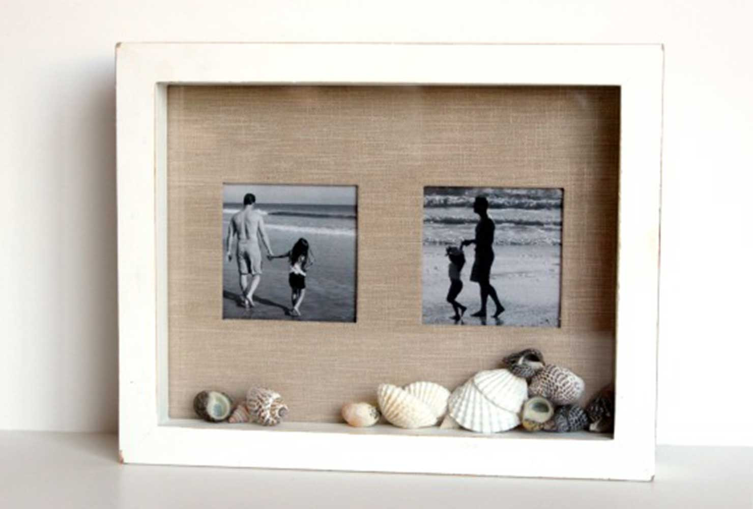 DIY Shadow Box Picture Frame  20 Creative DIY Picture Frames for Your Home