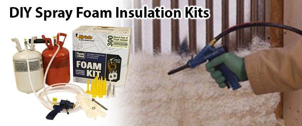 DIY Spray Foam Insulation Home Depot  USA Foam Spray USA Foam Insulation Kits and Cans
