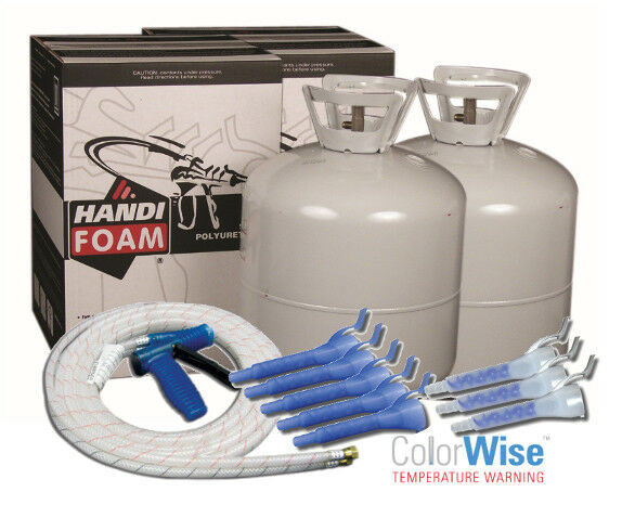 DIY Spray Foam Insulation Home Depot  Handi Foam Spray Foam Insulation 3 605 Kits 1815 BF
