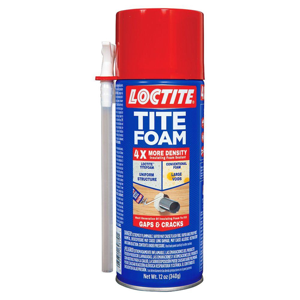 DIY Spray Foam Insulation Home Depot  Loctite 12 fl oz Tite Foam Insulating Foam The