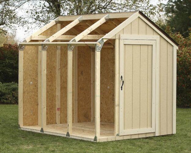 DIY Storage Shed Kits  Storage Shed Kit DIY Hardware Building Outdoor Wood