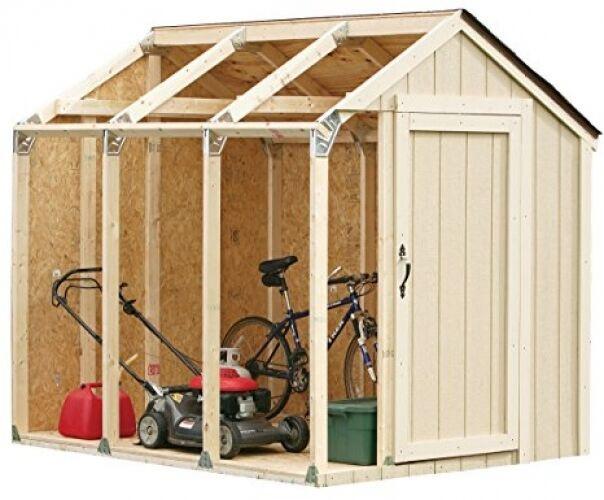 DIY Storage Shed Kits  Outdoor Storage Shed DIY Building Kit Garden Utility