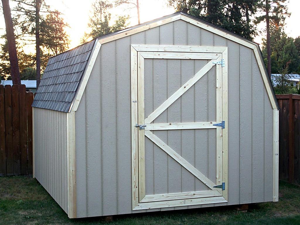 DIY Storage Shed Kits  53 Storage Sheds Kits Best Barns Woodville 10 Ft X 12 Ft