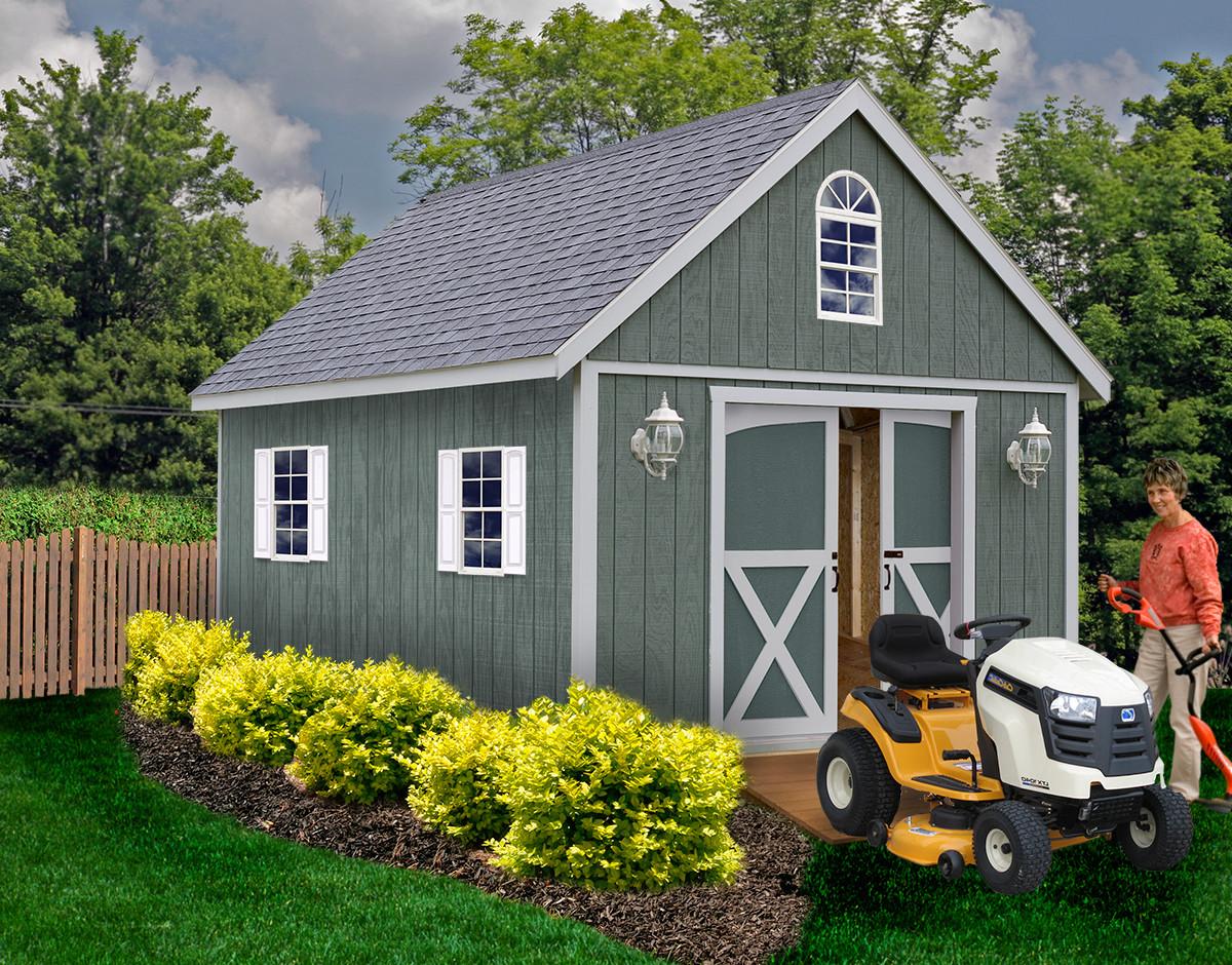 DIY Storage Shed Kits  Belmont 1200x940