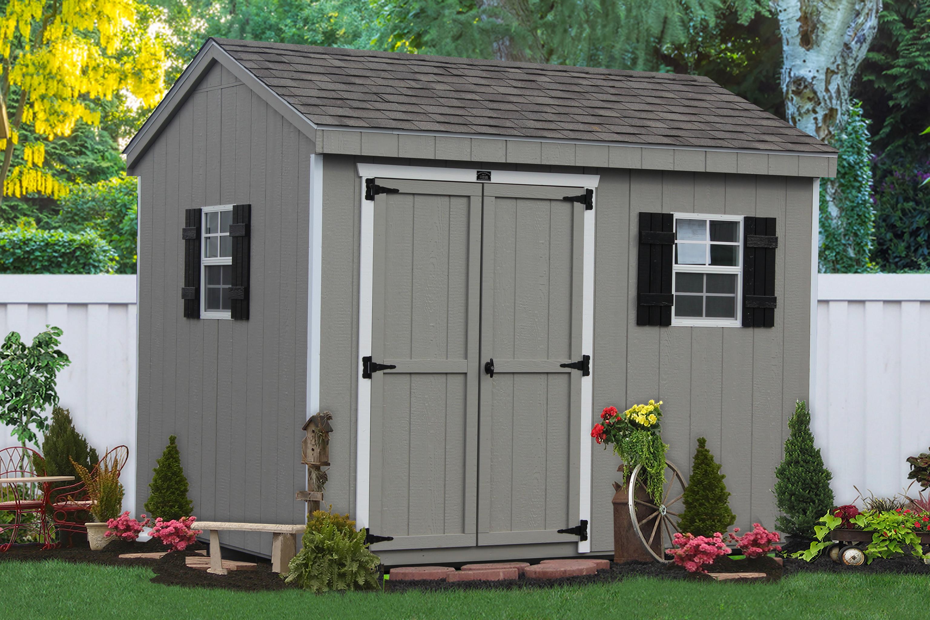 DIY Storage Shed Kits  Buy DIY Storage Shed Kits and Car Garage Kits Amish Built