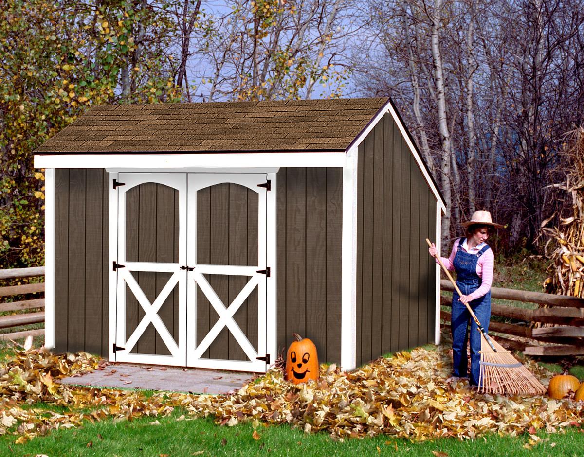 DIY Storage Shed Kits  Aspen10x8 1200x940