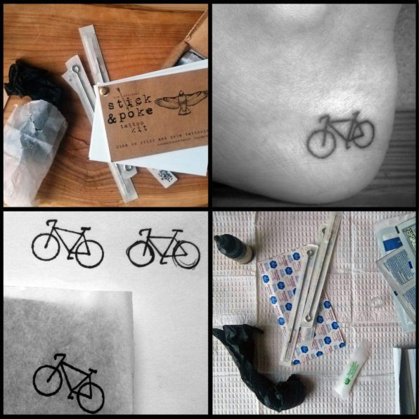DIY Tattoo Kit  Stick and Poke Tattoo Kit – Product Review • Stick and