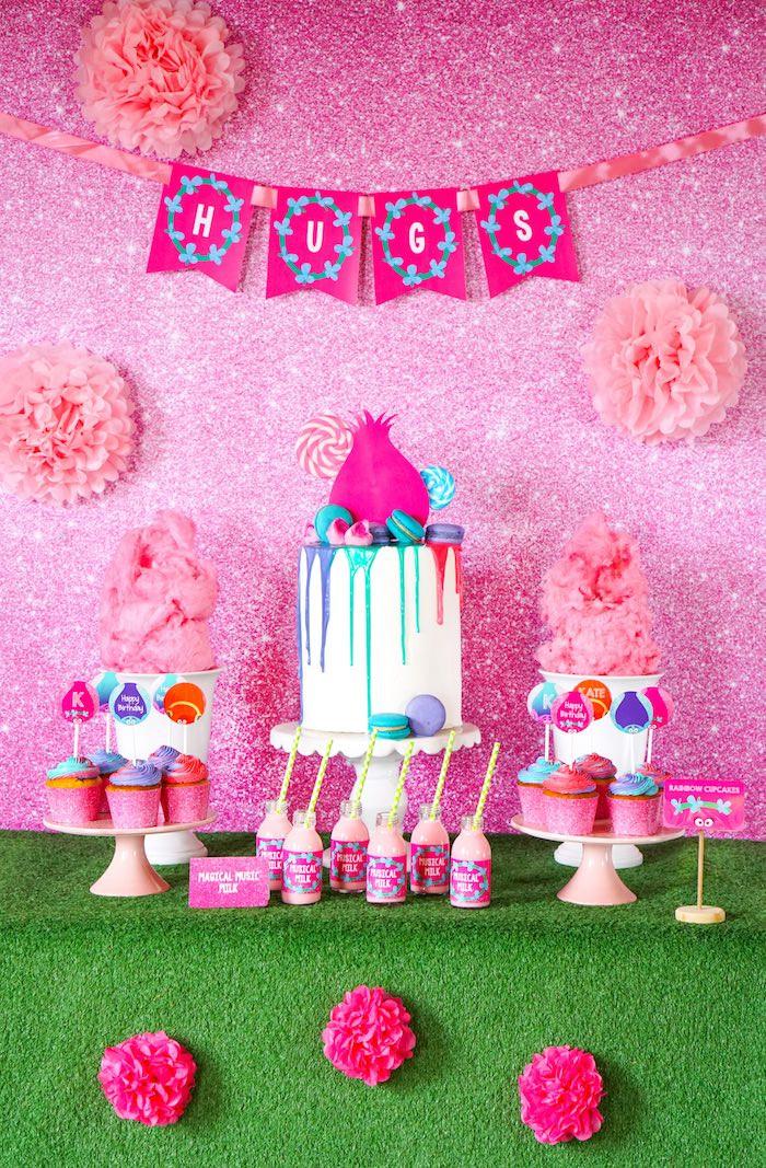 Diy Trolls Party Ideas  Kara s Party Ideas Trolls Birthday Party with FREE