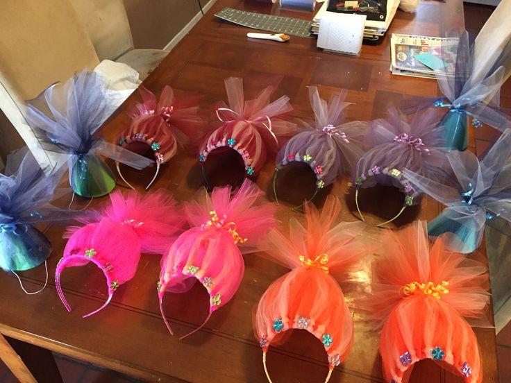 Diy Trolls Party Ideas  25 best ideas about Headbands for girls on Pinterest