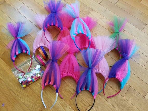Diy Trolls Party Ideas  DIYTroll Birthday party craft kit Bulk pack qty 20 Troll