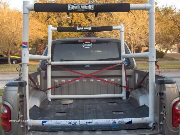 DIY Truck Rack  Best 25 Kayak rack for truck ideas on Pinterest