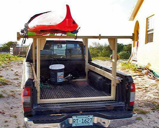 DIY Truck Rack  How To Build A Wood Rack For Truck WoodWorking Projects
