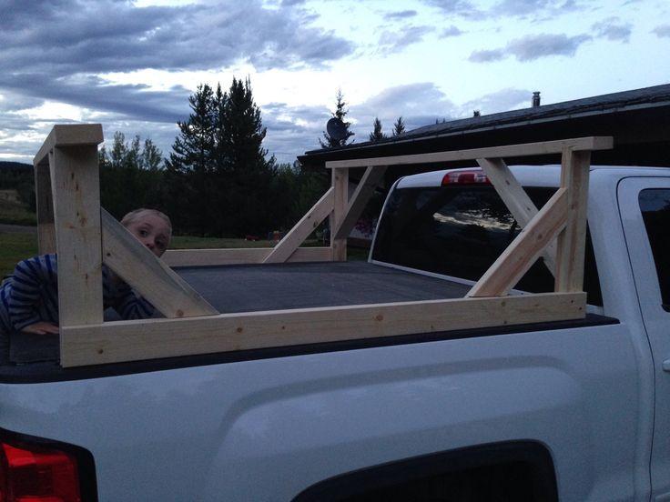 DIY Truck Rack  17 Best images about kayak carrier on Pinterest