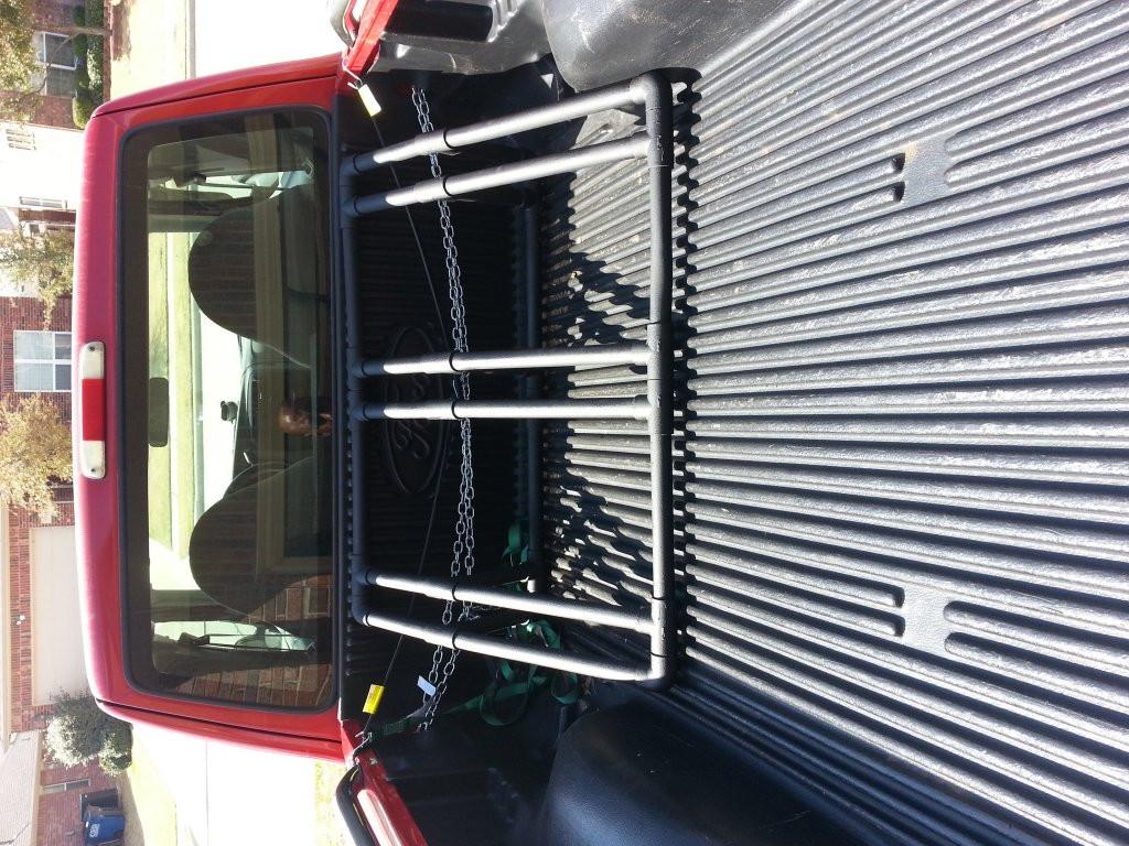 DIY Truck Rack  show your DIY truck bed bike racks Mtbr