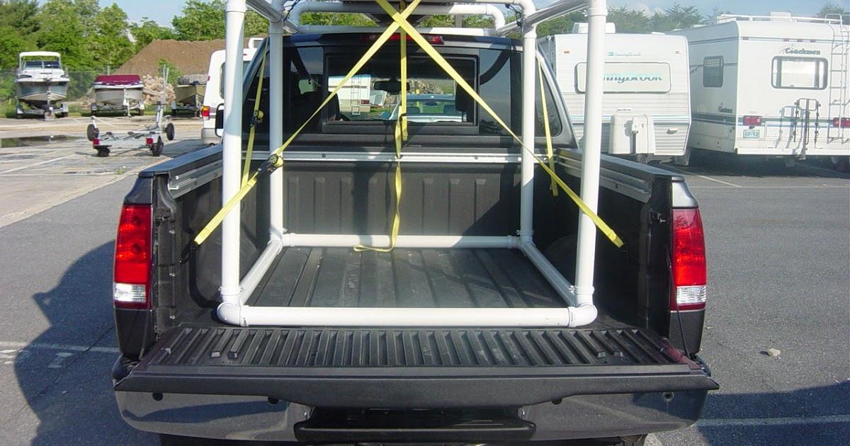 DIY Truck Rack  Lucas plete How to build a canoe rack for a pickup truck