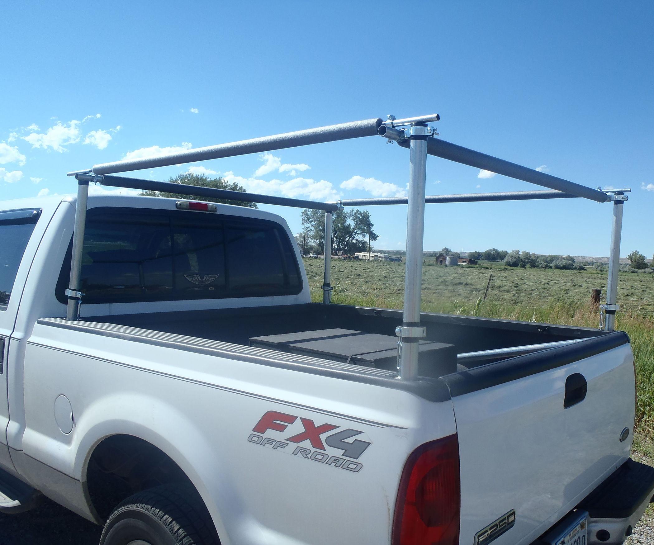 DIY Truck Rack  Truck Bed Utility Rack