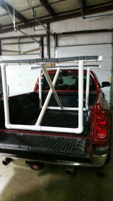 DIY Truck Rack  DIY truck kayak rack Kayaks
