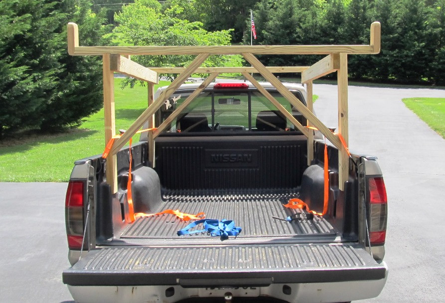 DIY Truck Rack  Wooden Rack For Pickup Truck PDF Woodworking
