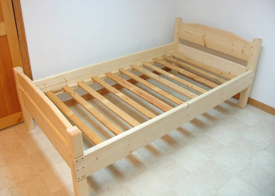 DIY Twin Bed Frame Plans  Building a bed