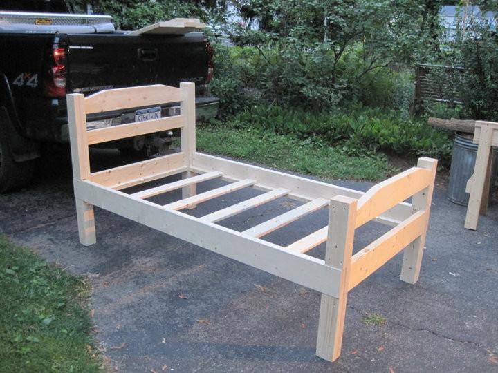 DIY Twin Bed Frame Plans  Diy Twin Bed Frame Plans PDF Woodworking