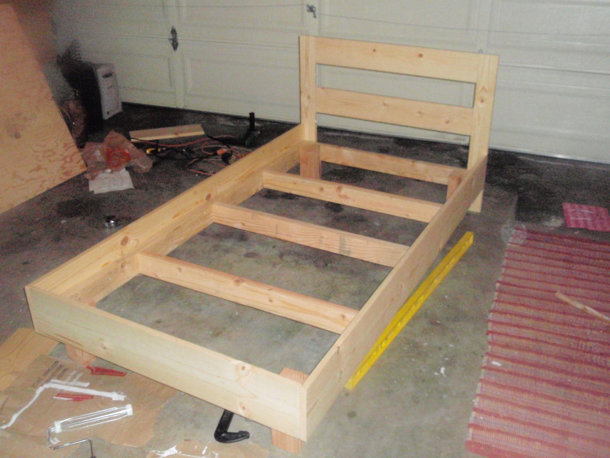 DIY Twin Bed Frame Plans  DIY Platform Bed Plans Twin PDF Download prayer kneeling