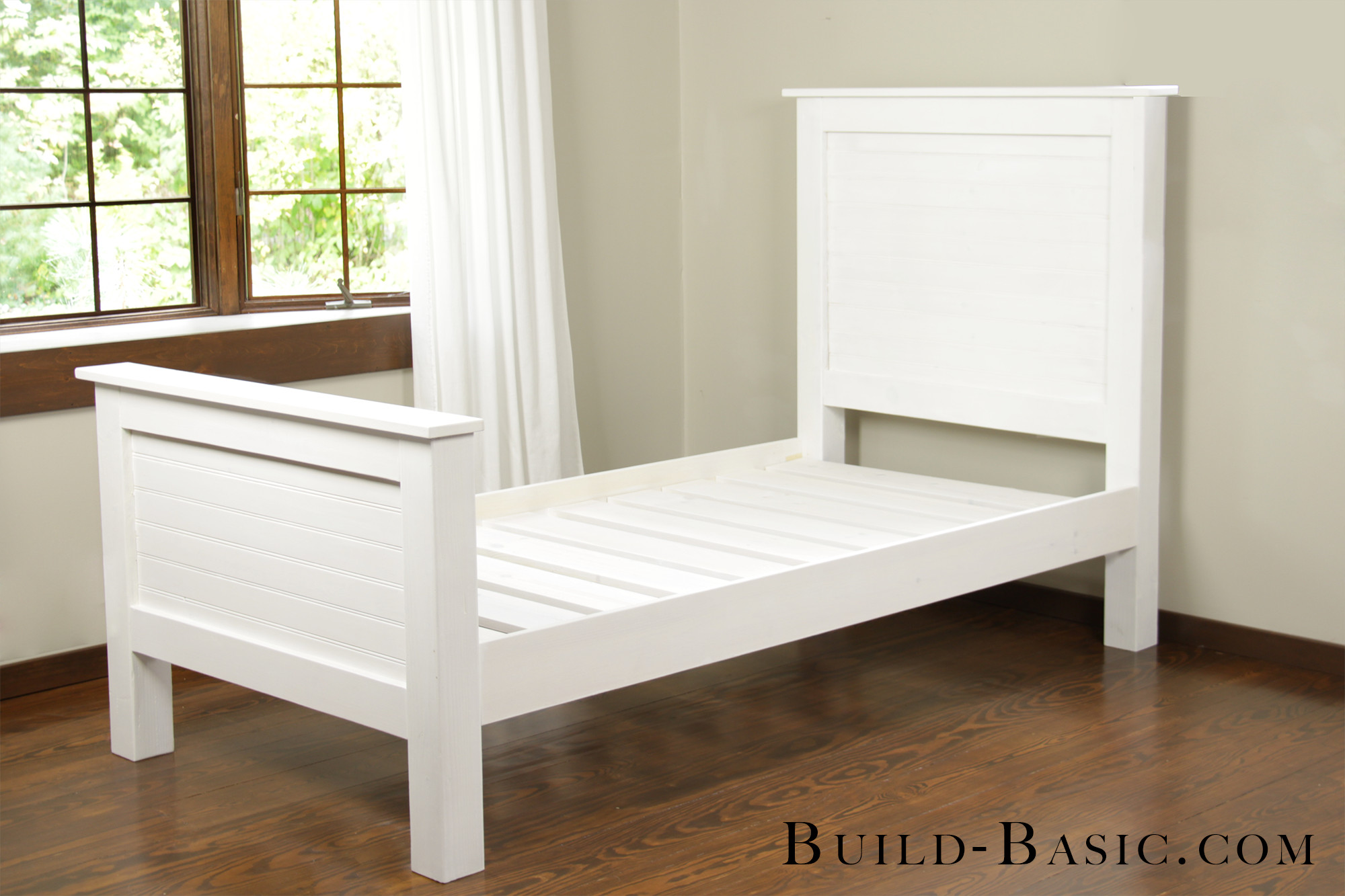 DIY Twin Bed Frame Plans  Build a DIY Twin Bed ‹ Build Basic