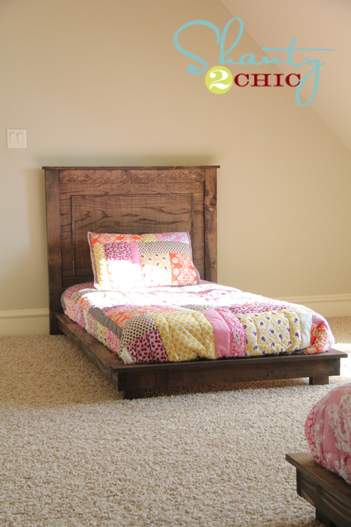 DIY Twin Bed Frame Plans  Ana White