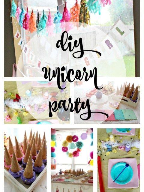 Diy Unicorn Party Ideas  DIY Unicorn Party