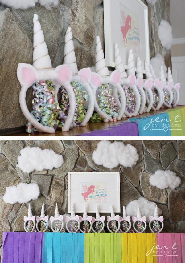 Diy Unicorn Party Ideas  Unicorn Birthday Party Ideas — Jen T by Design
