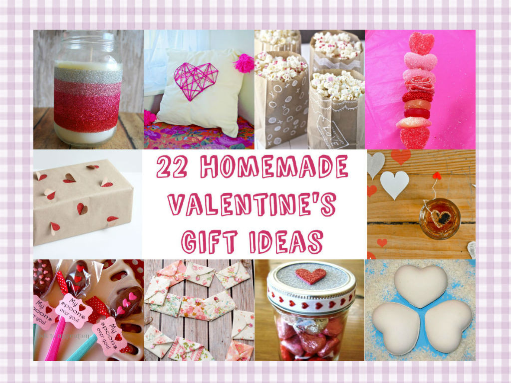 Diy Valentines Gift Ideas  22 Homemade Valentine s Gift Ideas