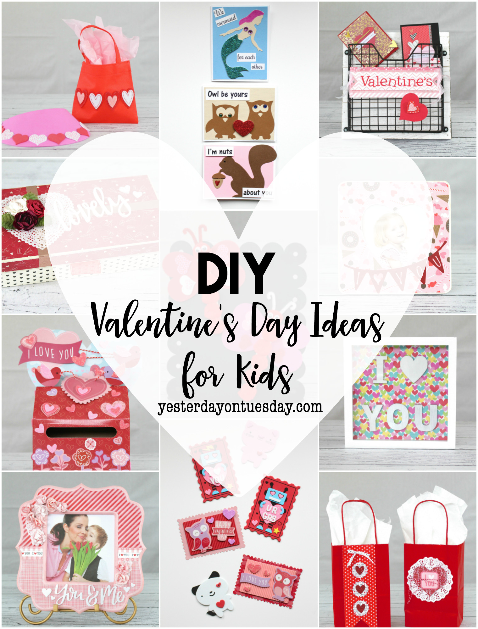 Diy Valentines Gift Ideas  DIY Valentine s Day Ideas for Kids