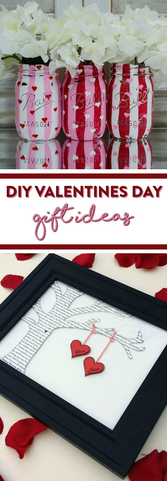 Diy Valentines Gift Ideas  DIY Valentines Day Gift Ideas