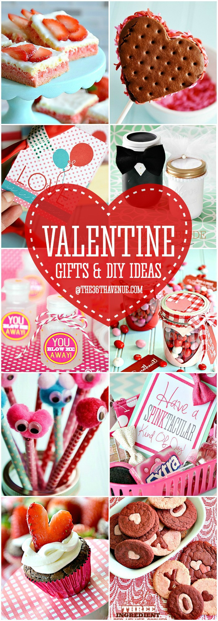 Diy Valentines Gift Ideas  Adorable Valentine Gift Ideas The 36th AVENUE